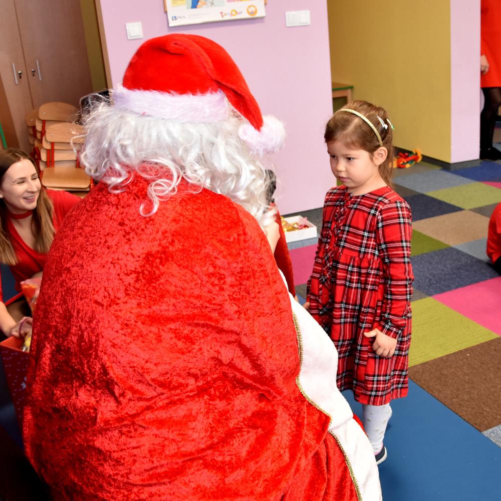 Mikołaj w Przedszkolu na ul. Klonowej! Hurra!