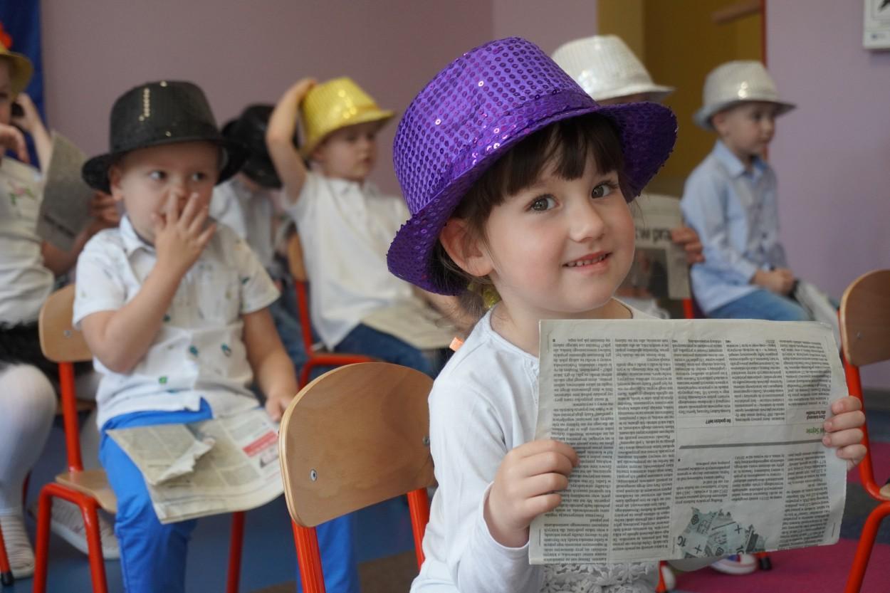"""Występy """"Smerfów"""" i """"Minionków"""" – Dzień Mamy w przedszkolu"""